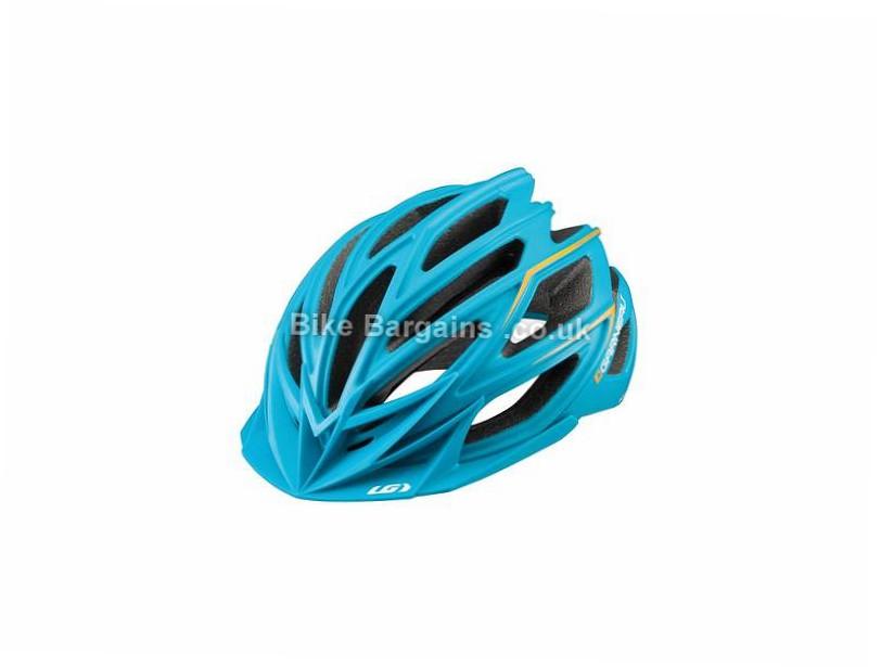 Louis Garneau Edge Helmet L, Blue, 285g, 22 vents
