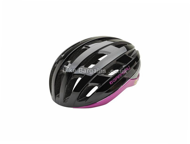 Louis Garneau Ladies Shine MIPS RTR Helmet S,M,L, Black, Pink