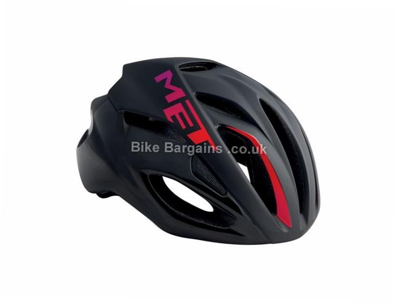 MET Rivale Ladies Road Helmet 2017 M, White, Green, Black, Pink