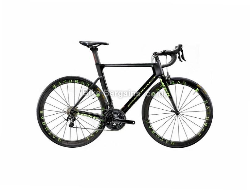 Mekk Primo 6.2 Carbon Road Bike 2018 50cm, Black, Grey, Carbon, 11 speed, Calipers, 700c, 8.9kg