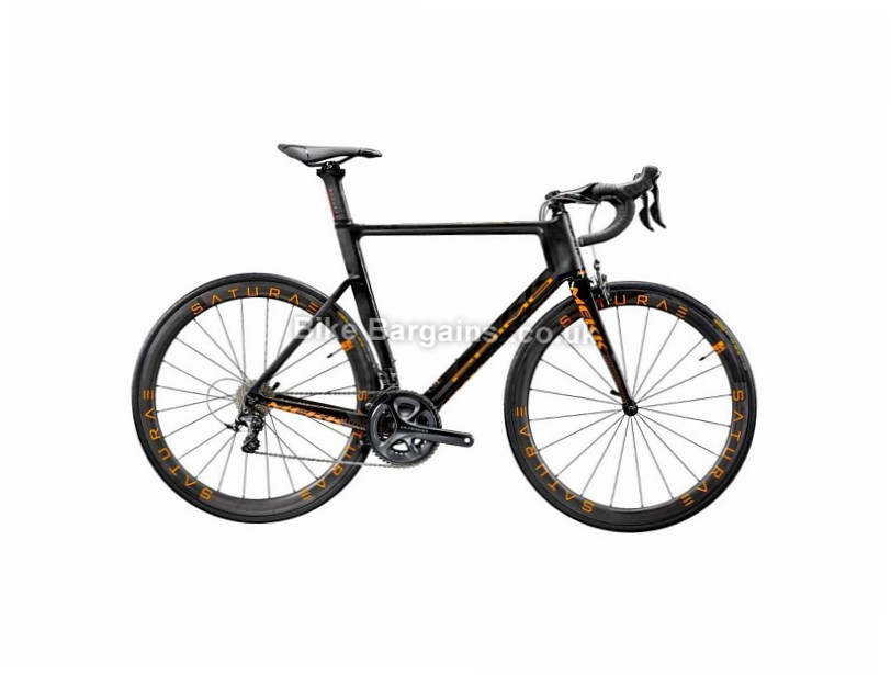 Mekk Primo 6.6 Carbon Road Bike 2018 47cm, 50cm, 52cm, 54cm, 56cm, Black, Orange