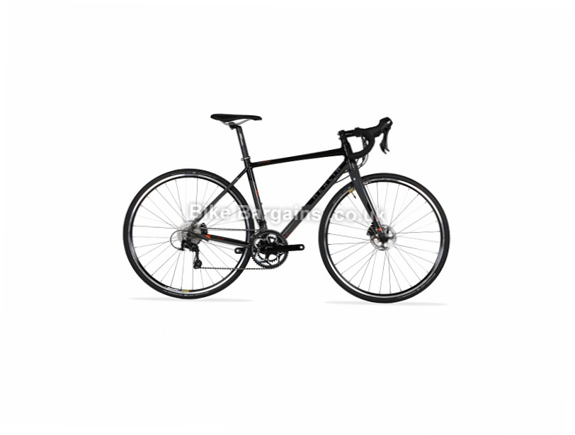 Merlin Axe7 Pro Disc Alloy 105 Road Bike 2017 53cm,59cm, Black, Grey, Alloy, Disc, 11 speed, 700c
