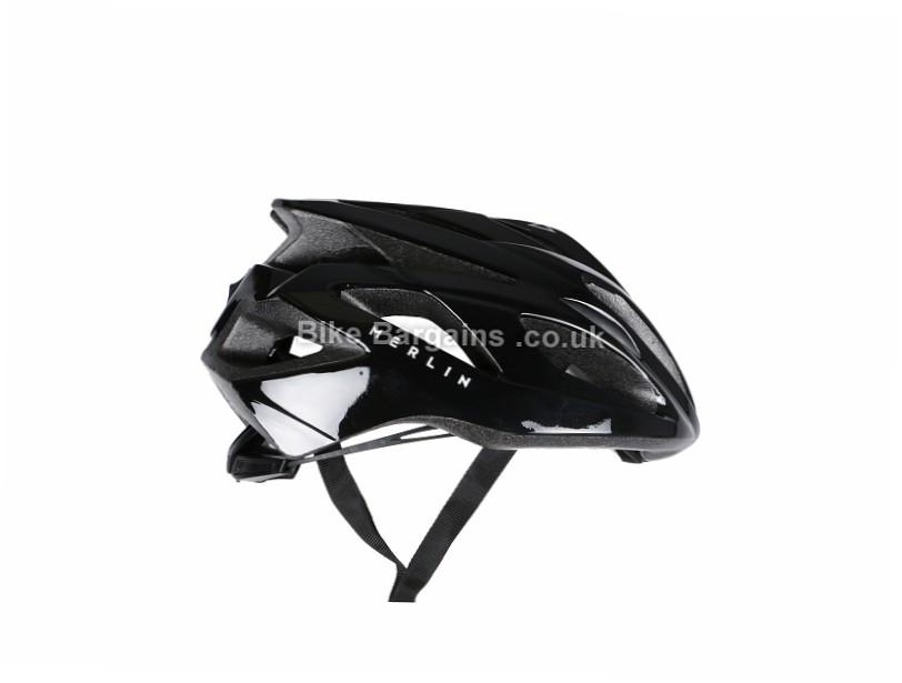 Merlin Wear Road Helmet L, Black, 275g, 17 vents