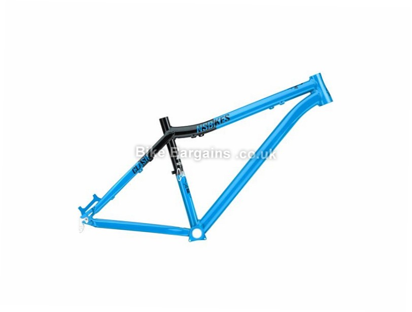 "NS Bikes Clash 26"" Alloy Hardtail Mountain Bike Frame 2017 16"", Black, Blue, 26"", 2.2kg, Alloy, Hardtail"