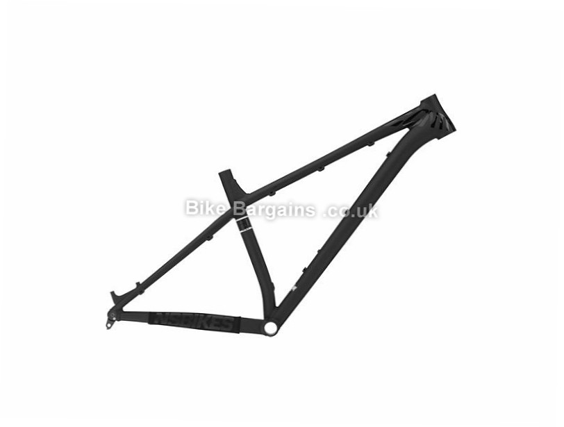 "NS Bikes Eccentric Alu Evo 27.5"" Alloy Mountain Bike Frame 17"", 19"",  Black, Green, Alloy"