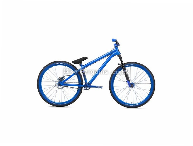 "NS Bikes Movement 1 Dirt Jump Alloy Hardtail Mountain Bike 2017 26"", Blue, Single Speed, Alloy, 100mm"