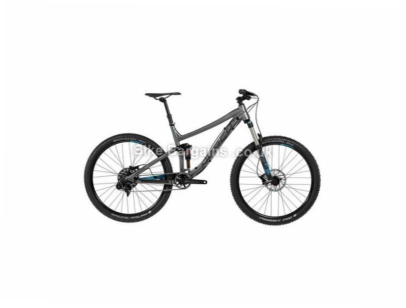 "Norco Optic A7.1 27.5"" Alloy Full Suspension Mountain Bike 2017 27.5"", Black, L"