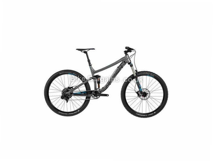 "Norco Optic A9.1 29"" Alloy Full Suspension Mountain Bike 2017 29"", M, L, Grey, Black"