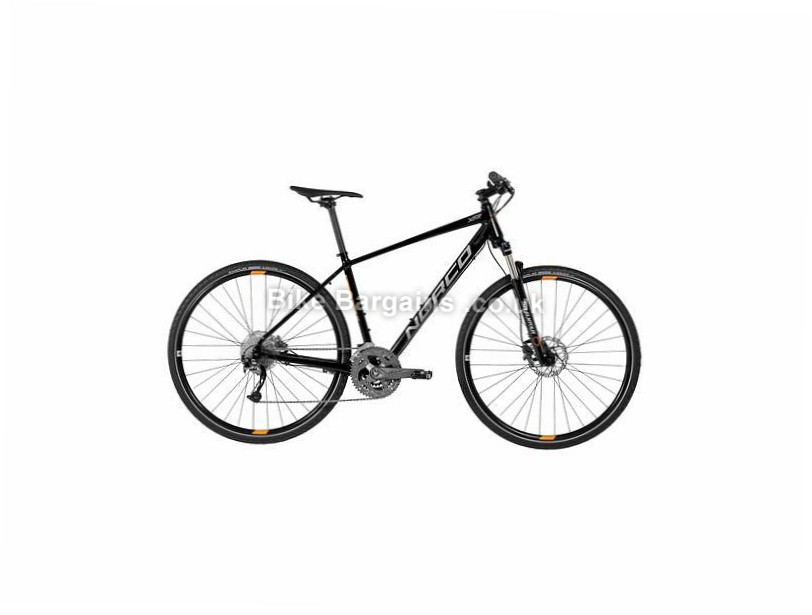 Norco XFR 2 Alivio Alloy Hybrid City Bike 2017 XL, Black, 700c