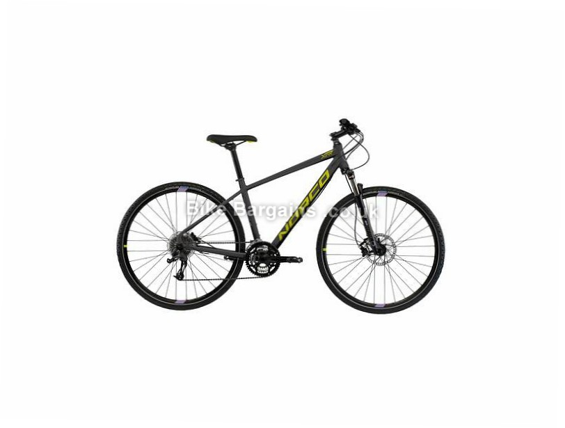 Norco XFR 3 Forma Ladies Alloy Hybrid City Bike 2017 700c, XXS, Grey