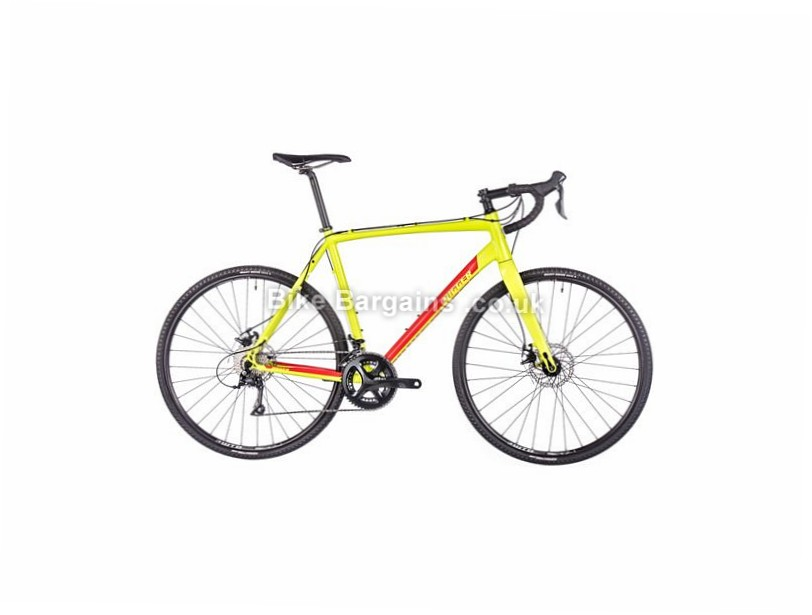 Nukeproof Digger 2.0 Gravel Alloy Sora Cyclocross Bike 2017 700c, 55cm, Green, Red, 11 Speed, Alloy