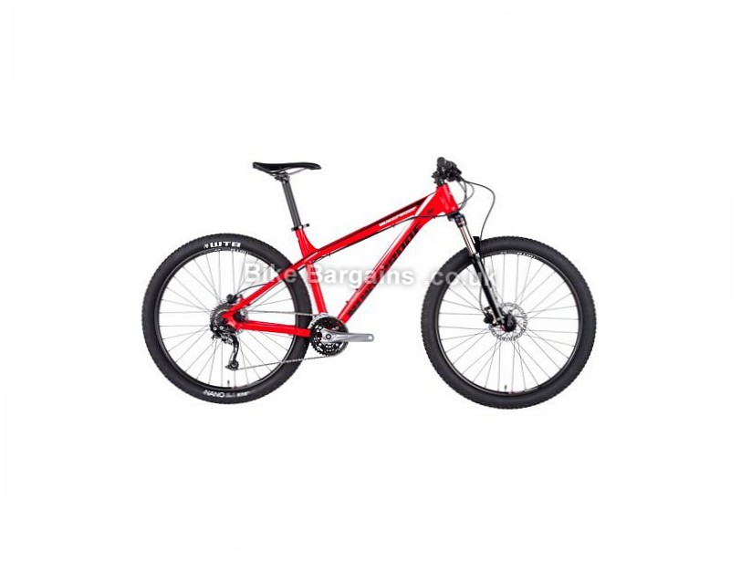 "Nukeproof Scout 275 Sport Alloy Hardtail Mountain Bike 2017 16"", 27.5"", Red, White, 11 Speed, Alloy, 140mm"