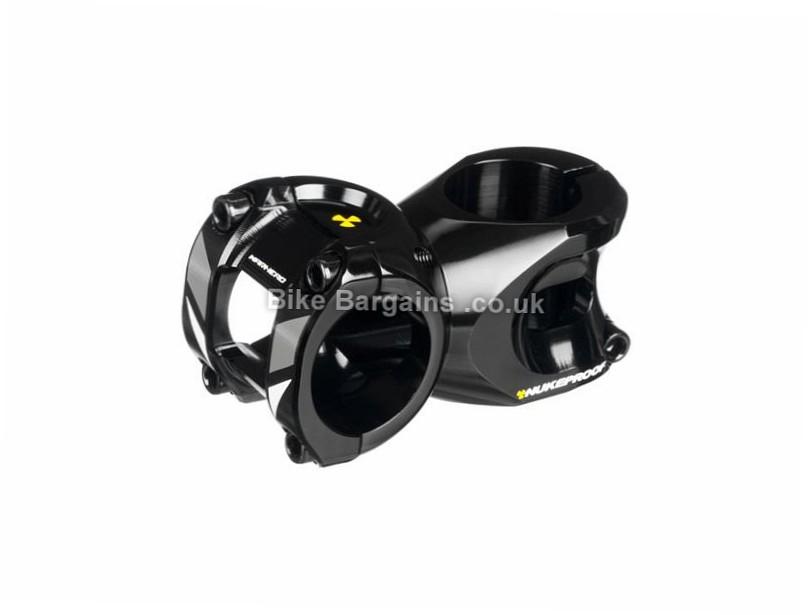 "Nukeproof Warhead MTB Stem 31.8mm, 1 1/8"", 60mm, 170g, Black, Yellow, Alloy"