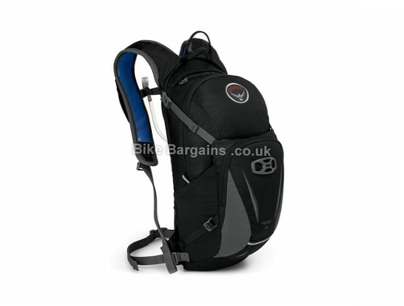 Osprey Viper 13 Hydration Backpack Black, Green, Orange, 580g