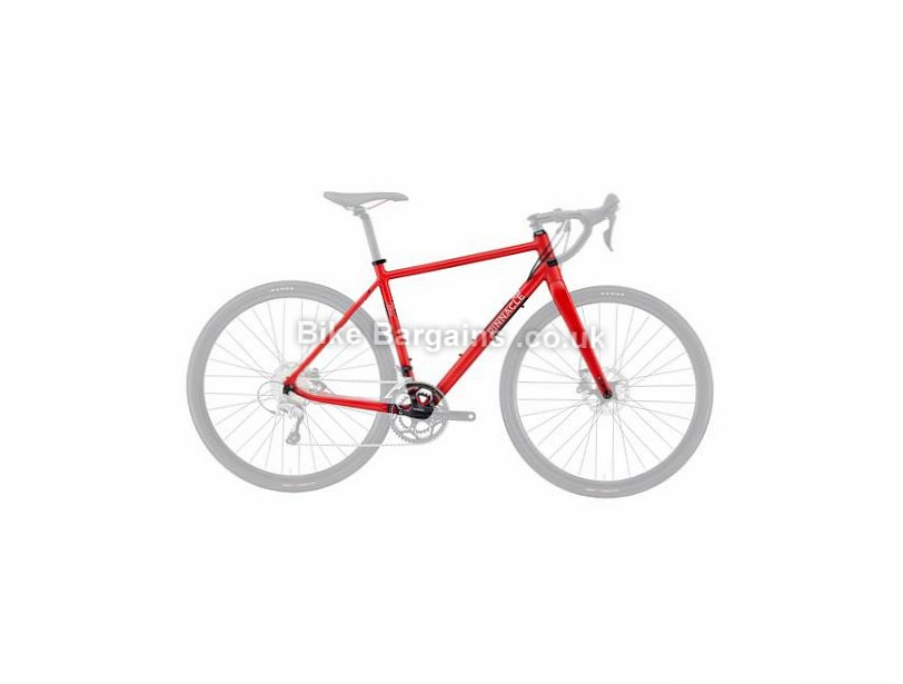 Pinnacle Arkose 4 Hybrid Alloy Disc Road Frame 2016 XL, Red, Alloy, Disc, 700c