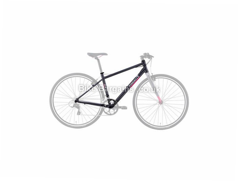 Pinnacle Neon 3 Ladies Alloy Hybrid City Frame 2016 L, Grey, 700c