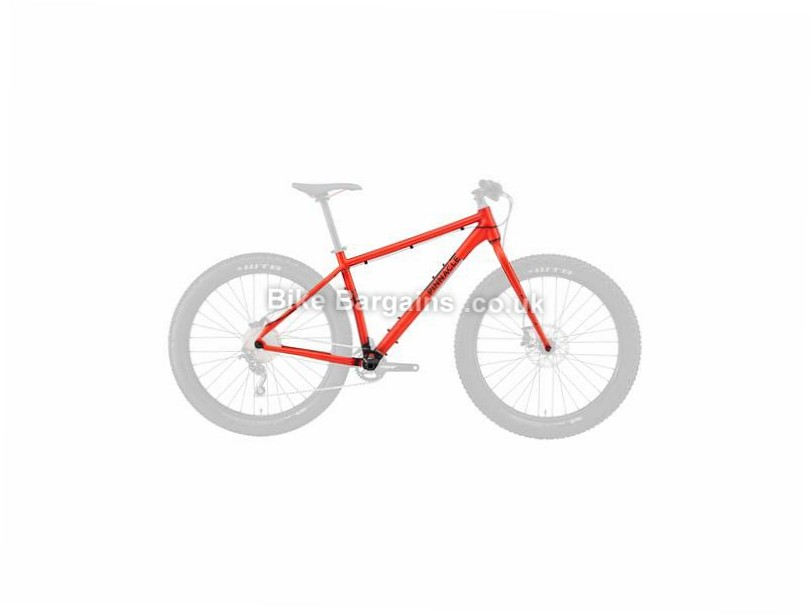 Pinnacle Ramin 3 Plus Alloy Hardtail MTB Frame 2016 S, M, Orange, 27.5""