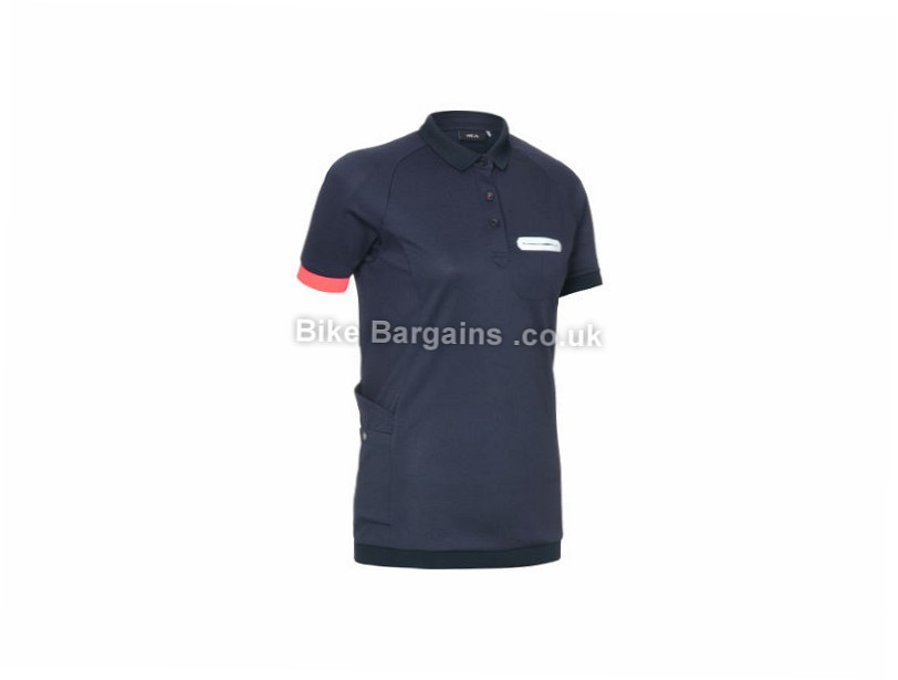 Primal Ladies Vaughan Polo Shirt Blue, S,M,L,XL