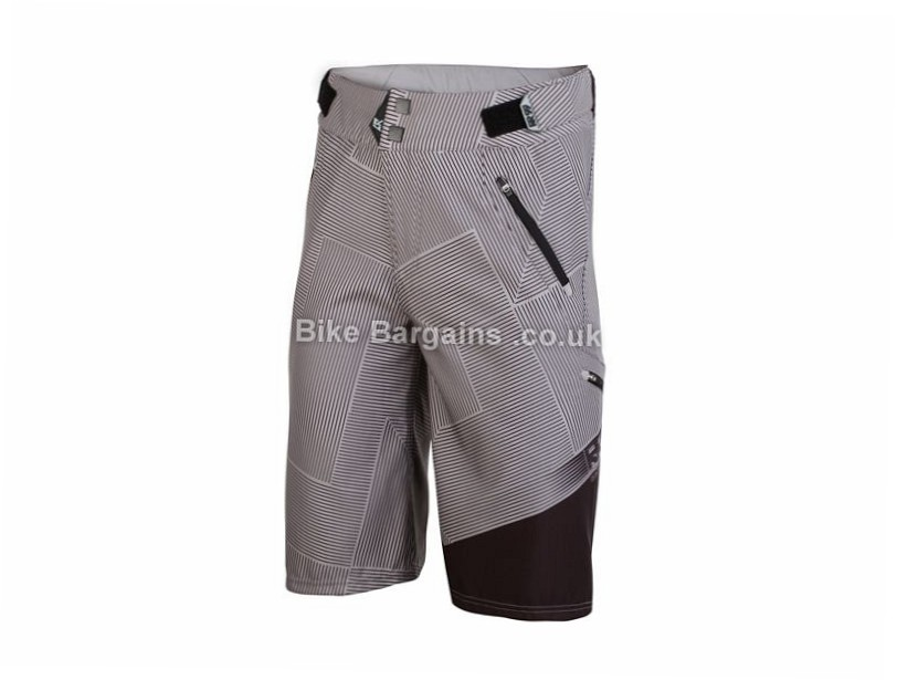 Royal Matrix MTB Shorts XL, Green, Grey, Black, Blue