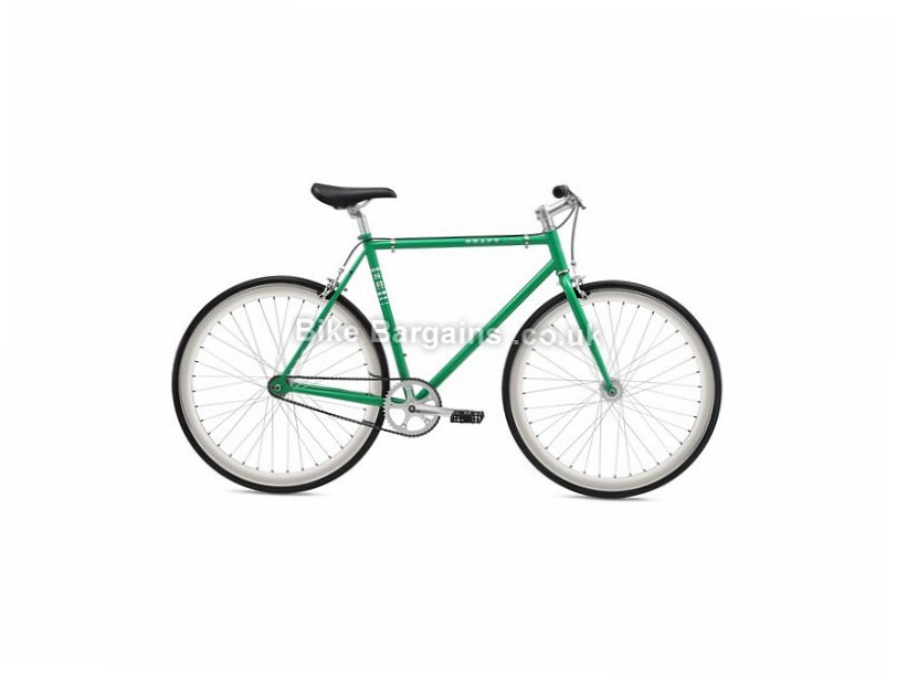 SE Bikes Draft Lite Steel Hybrid City Bike 2017 700c, 49cm, 52cm, 55cm, Black, Green, Alloy