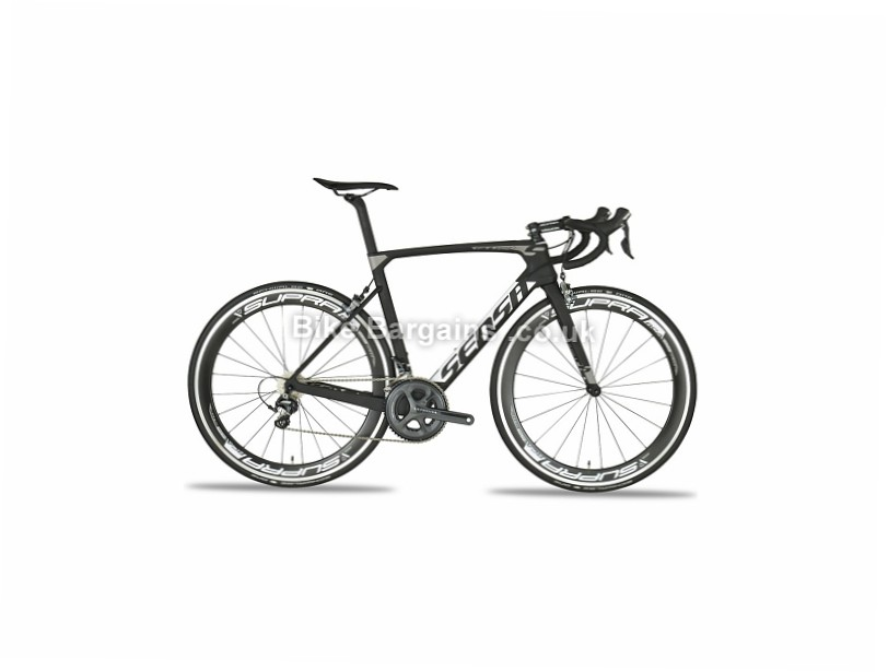 Sensa GiuliAero Carbon Road Bike 2017 Black, Grey, 50cm