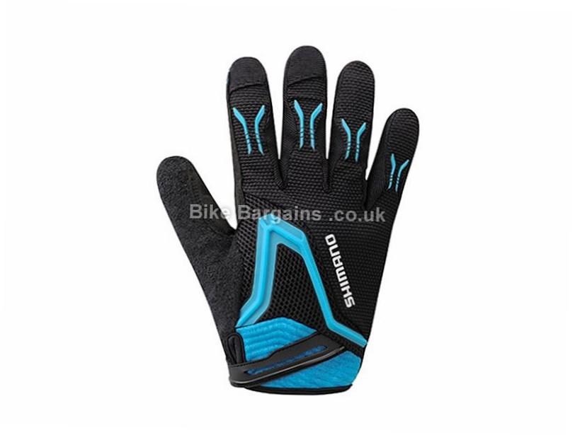 Shimano Free Ride MTB Gloves M, White, Black