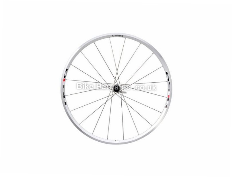 Shimano RS10 Clincher 700c Road Wheels Silver, 700c, 8,9,10 Speed