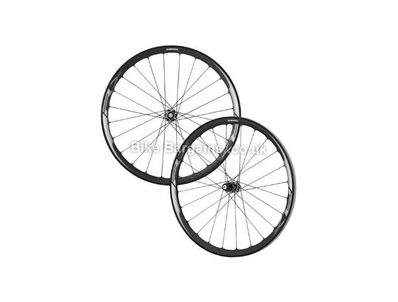 Shimano RX830 Disc Road Wheels Black, 700c, Shimano, 1841g