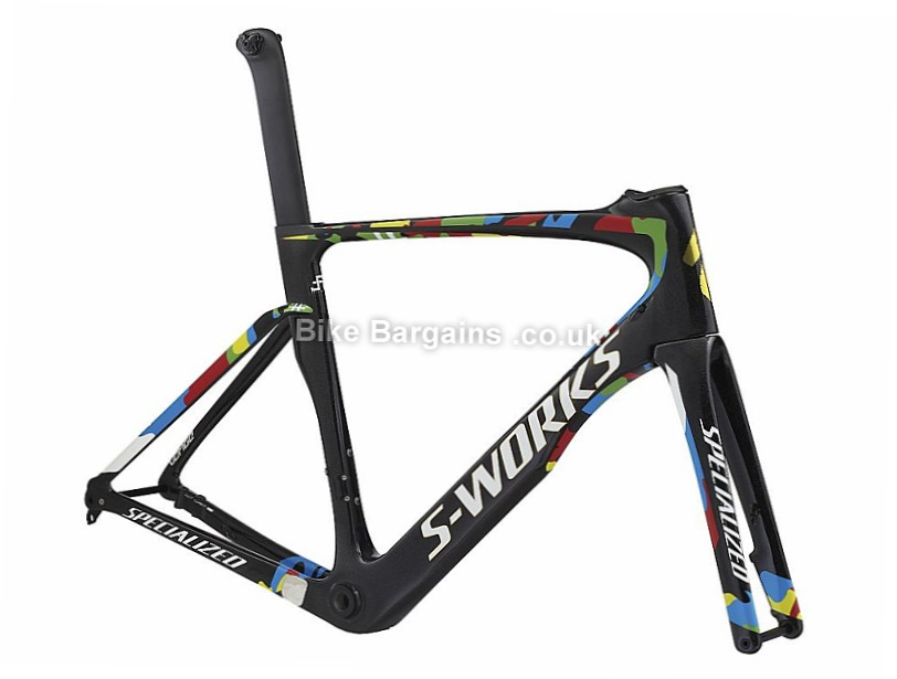 Specialized S-works Venge Vias Disc Sagan Edition Carbon Road Frame 2017 Black, 58cm