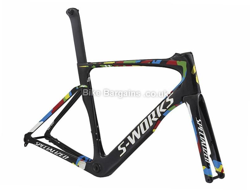 Specialized S-works Venge Vias Disc Sagan Edition Carbon Road Frame 2017 Black, 58cm
