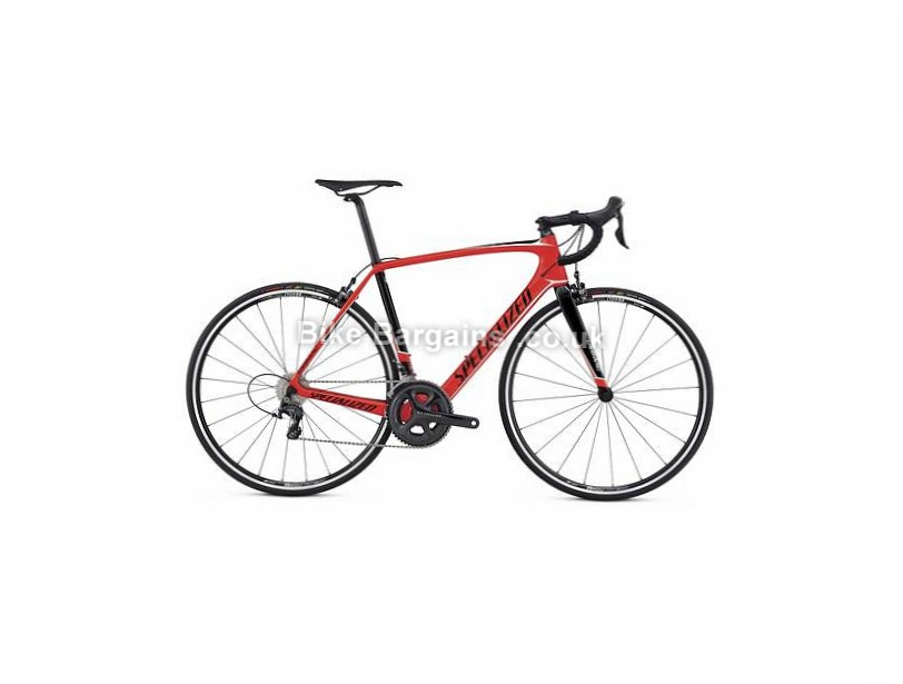 Specialized Tarmac Comp 105 Carbon Road Bike 2017 54cm, Red, Black