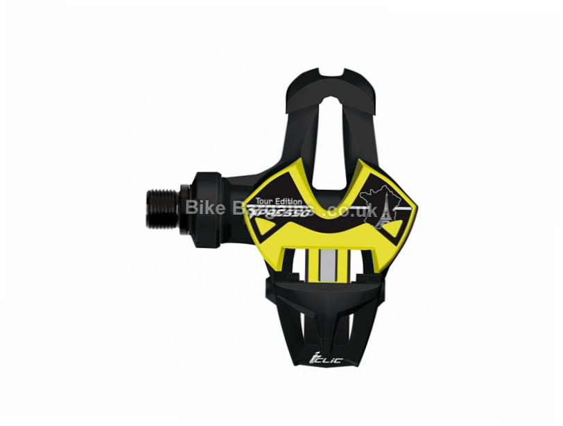 Time Xpresso 10 Carbon TDF Edition Road Pedals 204g, Black, Yellow