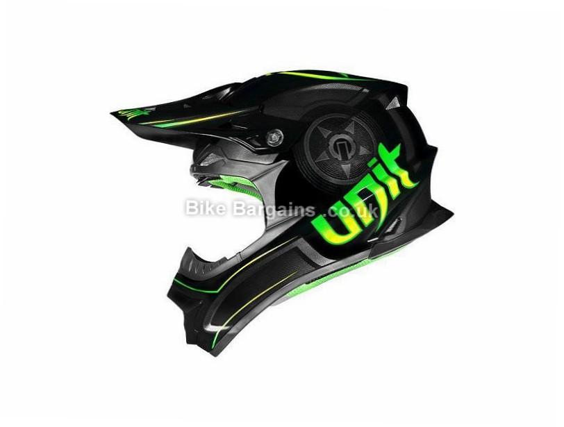 Unit Exo Drone MTB Helmet XS, S, M, L, XL, Black, Green, Silver, Red