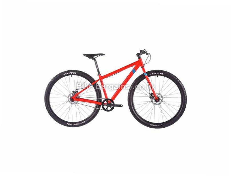 "Vitus Bikes Dee City Bike 2017 29"" , 16"", Red, Blue, Single Speed, Alloy"