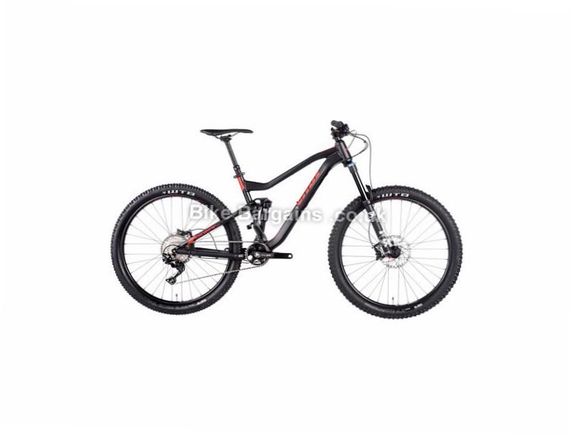 "Vitus Bikes Escarpe VRX XT 27.5"" Alloy Full Suspension Mountain Bike 2017 27.5"", 19"", 20"", Black, Red, 11 Speed, Alloy, 150mm, 135mm"