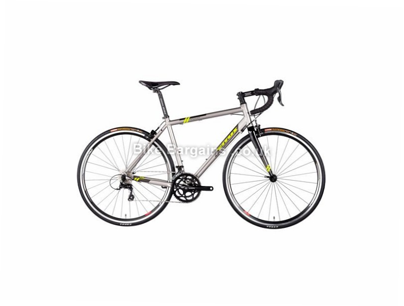 Vitus Bikes Razor VR Road Bike 2017 50cm,52cm, Grey, Yellow, Alloy, Calipers, 9 speed, 700c, 9.36kg