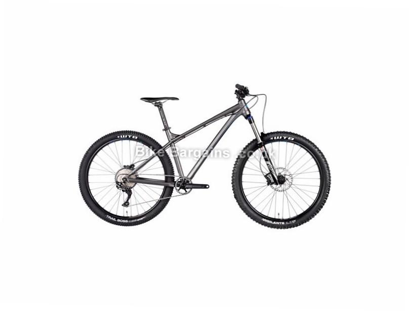 "Vitus Bikes Sentier VRS SLX 27.5"" Alloy Hardtail Mountain Bike 2017 27.5"",  17"", 19"", Grey, 11 Speed, Alloy, 140mm"