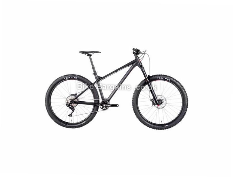 "Vitus Bikes Sentier VRX XT Alloy Hardtail Mountain Bike 2017 27.5"", 15"", Black, Red, 11 Speed, Alloy, 140mm"