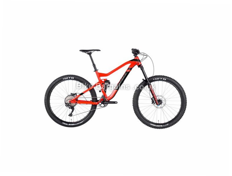 "Vitus Bikes Sommet SLX Alloy Full Suspension Mountain Bike 2017 20"", 27.5"", Red, Black, 11 Speed, Alloy, 160mm, 155mm"