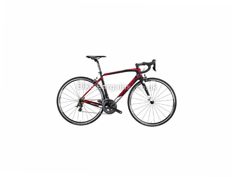 Wilier GTR Team Endurance Ultegra Carbon Road Bike 2017 M, Black, Red, Carbon, 11 speed, Calipers, 700c
