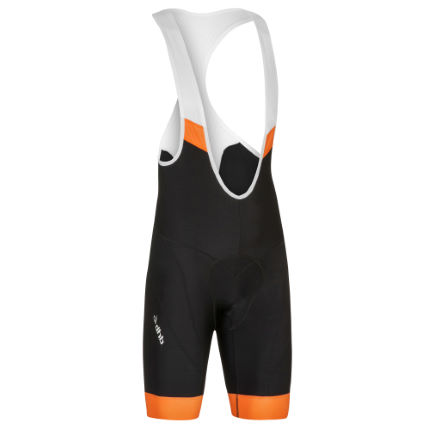 dhb Aeron Pro Bib Shorts XS, Black, Orange
