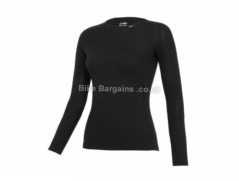 dhb Ladies Merino Long Sleeve Base Layer 8, 10, 12, 14, 16, Grey