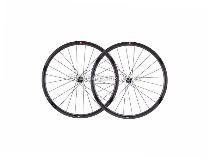 3T Orbis II C35 LTD Carbon Stealth Road Wheels Shimano, 700c, Black, 9 Speed, 10 Speed, 11 Speed