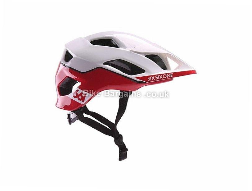 661 Evo AM Patrol MIPS MTB Helmet XS,S,White,Red