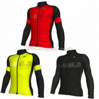 Ale Solid Block Long Sleeve Jersey 2018