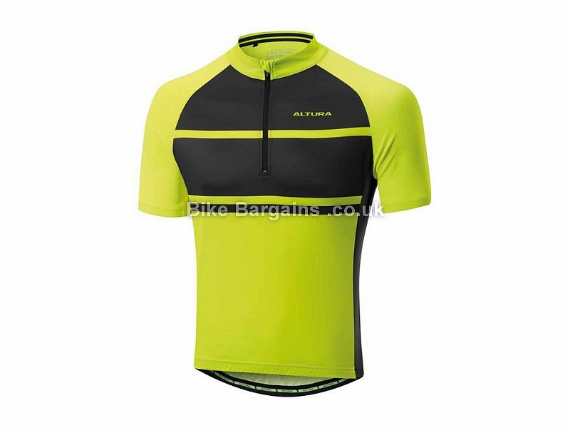 Altura Airstream 2 Short Sleeve Jersey S, Yellow