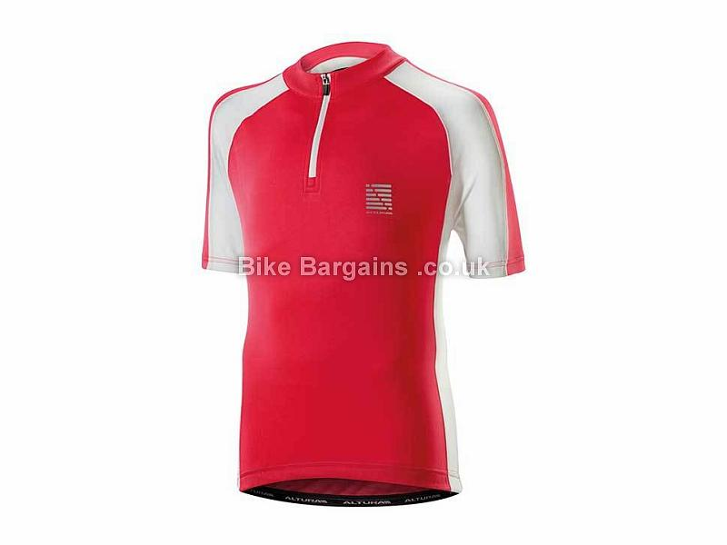 Altura Kids Sprint Short Sleeve Jersey S, Red, White