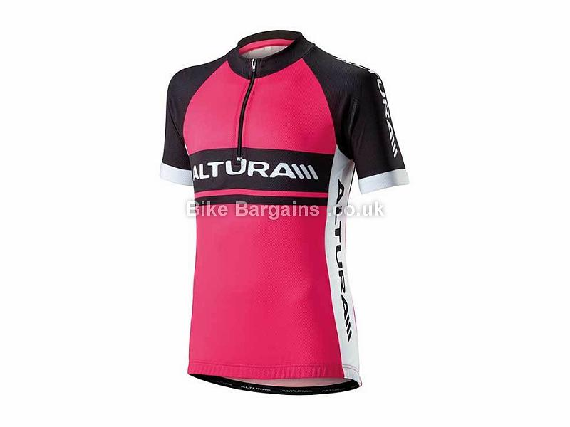Altura Kids Team Short Sleeve Jersey L, Pink
