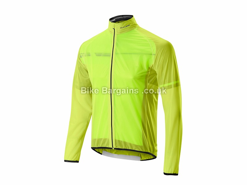 Altura Podium Lite Jacket M, White, Yellow, Men's, Long Sleeve