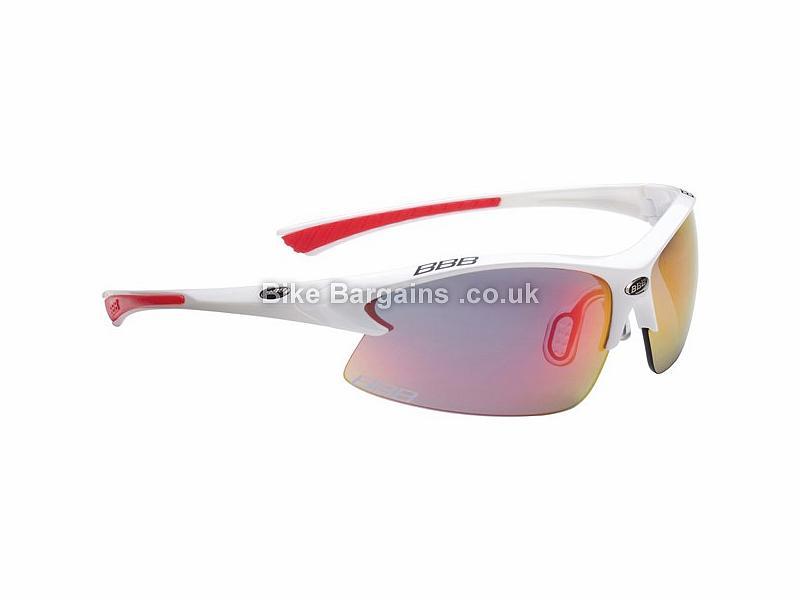 BBB BSG-38 Impulse Team Sport Glasses White, Red